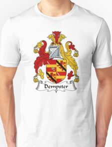 Dempster Coat of Arms / Dempster Family Crest Unisex T-Shirt