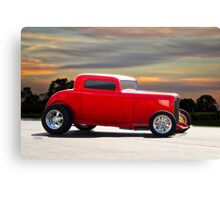 1932 Ford 'Riding Rod' Coupe Canvas Print