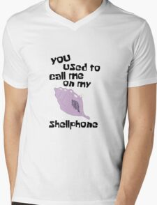 You used to call me on my shellphone Mens V-Neck T-Shirt