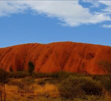 Uluru (Ayers Rock) by aussiedi