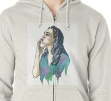 Just a Touch Zipped Hoodie
