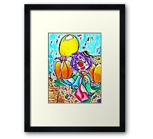 Smile For A Sweeter Day Framed Print