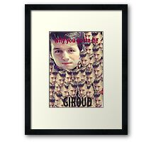Jump For Lux Framed Print