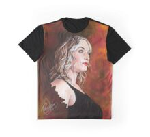 Kate Winslet Watercolor portrait Graphic T-Shirt
