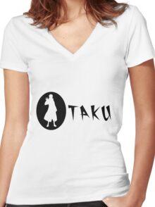 Otaku Pain - Naruto Shippuden Women's Fitted V-Neck T-Shirt
