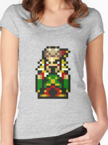 Final Fantasy 6: Laughing Kefka Women's Fitted Scoop T-Shirt