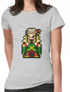 Final Fantasy 6: Laughing Kefka Womens Fitted T-Shirt