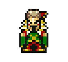 Final Fantasy 6: Laughing Kefka Photographic Print