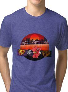 Hotline Miami 2 - Character Select Tri-blend T-Shirt
