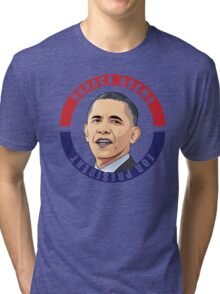 Barack Obama Tri-blend T-Shirt