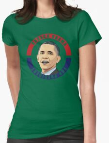 Barack Obama Womens Fitted T-Shirt