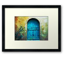 Secret Door Framed Print