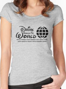 Drink Around the World - Epcot Women's Fitted Scoop T-Shirt