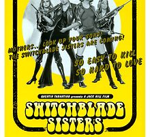 Switchblade Sisters (Yellow) by PulpBoutique