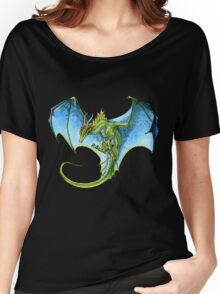 Azure-Winged Dragon Women's Relaxed Fit T-Shirt