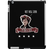 Sherlock on a case iPad Case/Skin