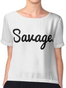 Savage Chiffon Top