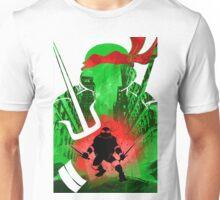 Raphael Ninja Turtle Unisex T-Shirt