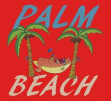 Palm beach One Piece - Short Sleeve