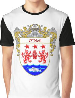 O'Neil Coat of Arms / O'Neil Family Crest Graphic T-Shirt