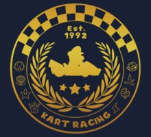 Kart Racing One Piece - Short Sleeve
