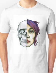 Anatomical Skull Study/Portrait Unisex T-Shirt
