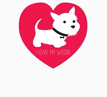 I Love My Westie Womens Fitted T-Shirt