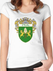 O'Reilly Coat of Arms / O'Reilly Family Crest Women's Fitted Scoop T-Shirt