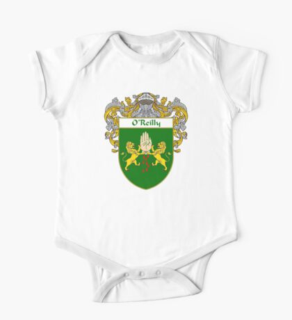 O'Reilly Coat of Arms / O'Reilly Family Crest One Piece - Short Sleeve