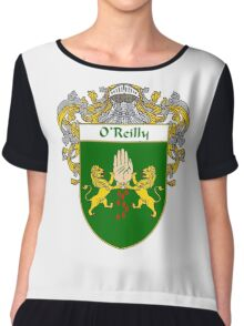 O'Reilly Coat of Arms / O'Reilly Family Crest Chiffon Top