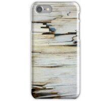 Splintered wood iPhone Case/Skin