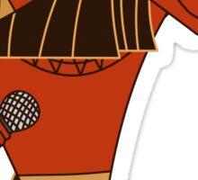 Music Jackal  Sticker
