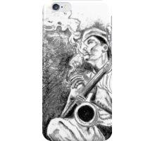 Jazz player iPhone Case/Skin