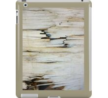 Splintered wood iPad Case/Skin