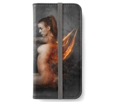 Strato GirL iPhone Wallet/Case/Skin