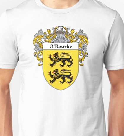 O'Rourke Coat of Arms / O'Rourke Family Crest Unisex T-Shirt