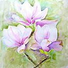 Three Magnolias by Sunflower3