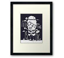 Optimism Framed Print