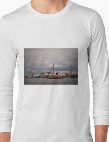 New Bedford Waterfront XVI Long Sleeve T-Shirt