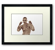 Put Up Your Dukes  Framed Print