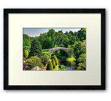 Doon Bridge Framed Print
