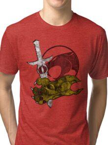 The Sword & Claw Tri-blend T-Shirt