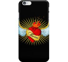 Old School Mom's Heart iPhone Case/Skin