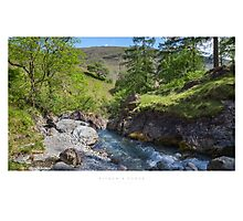 Ritson's Force, Wasdale Head Photographic Print