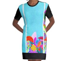 Magic Graphic T-Shirt Dress