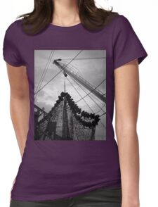 New Bedford Waterfront XVII BW Womens Fitted T-Shirt