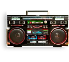 Huge Boombox Ghetto Blaster Canvas Print