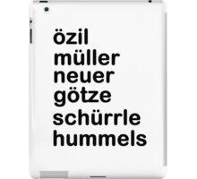 German Team iPad Case/Skin