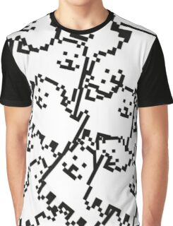 Undertale annoying dog collage Graphic T-Shirt