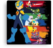 Megaman: Souls of a Hero V2 Minimal Canvas Print